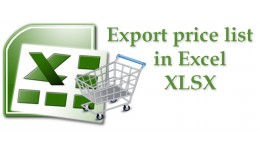 Export price list to excel XLSX