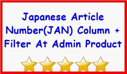 Japanese Article Number(Jan) Column + Filter At ..