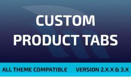 Custom Product Tabs / Extra Tabs