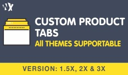 Add Custom Tabs or Extra Tabs in Products ( 1.5x..
