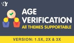 Age Verification Popup (1.5.6x, 2x & 3x)
