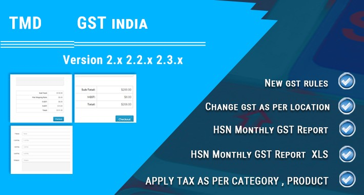 GST (Goods and Services Tax) Exclude