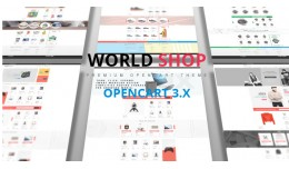 World Shop Premium Opencart 3.X