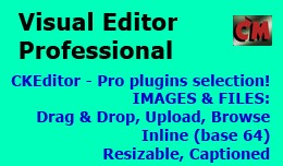 Visual Editor Professional