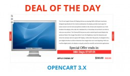 Deal Of The Day Opencart 3.X