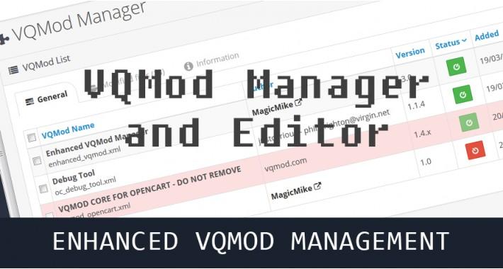VQMod Manager & Editor