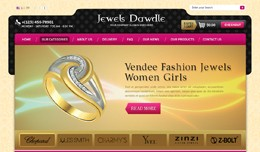 Jewels Dawdle Opencart Template