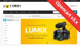 Camera Opencart 2 & 3 Theme - OPCADD016