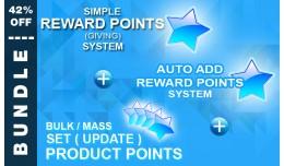 BUNDLE: Simple Reward, Auto Add, and Bulk Set Pr..