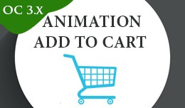 Beautiful animation add to cart 3.x