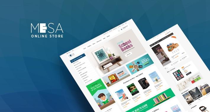 Pav Mesa - Bookstore Opencart 3 Theme