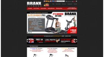 Website for Fitness Equipments