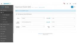 Opencart Bulk SMS