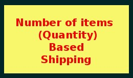 Number of Item Based Shipping / Quantity Based S..
