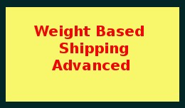 Weight Based Shipping Advanced