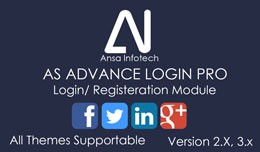 AS Advance Login Pro (VQMOD)