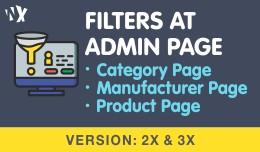 Filter at admin page