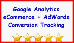 Google Analytics eCommerce + AdWords Conversion ..