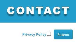 Check box Agree in Contact
