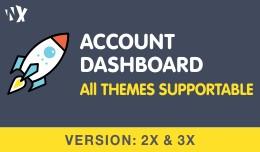 Customer Account Dashboard