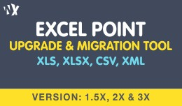Excel Point - Import Export Tool -  (1.5x, 2.x &..