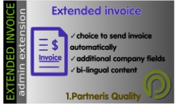 Extended invoice (bi-lingual PDF invoice) for Op..