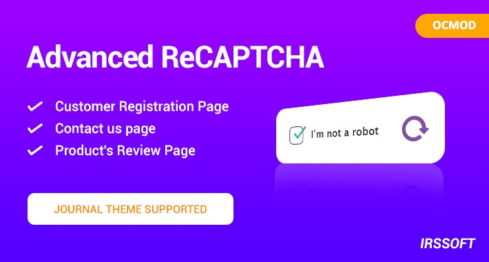 Advanced ReCAPTCHA (OCMOD)