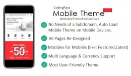 No.1 Best Mobile OpenCart Template Theme By Codi..