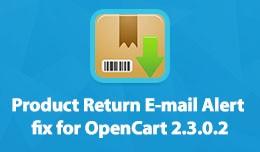 Product Return E-mail Alert / Visszáru értesí..