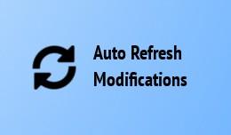 Auto Refresh Modifications Cache