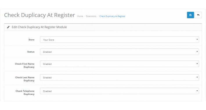 Check Duplicacy At Register