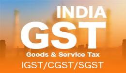GST - India {IGST, CGST, SGST}