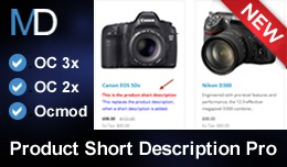 Product Short Description Pro