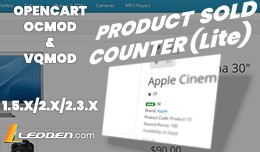Product Sold Counter (Lite)