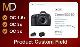 Product Custom Field