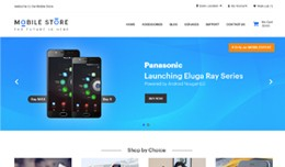 Mobile Store Opencart Responsive Template
