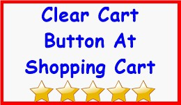 Clear Cart Button At Shopping Cart