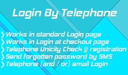 Login by Telephone and more