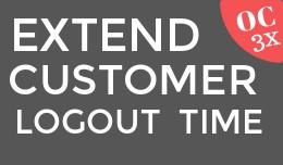 Extend Customer Logout Time OC3x