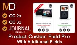 Product Custom Field Pro  - Journal Theme