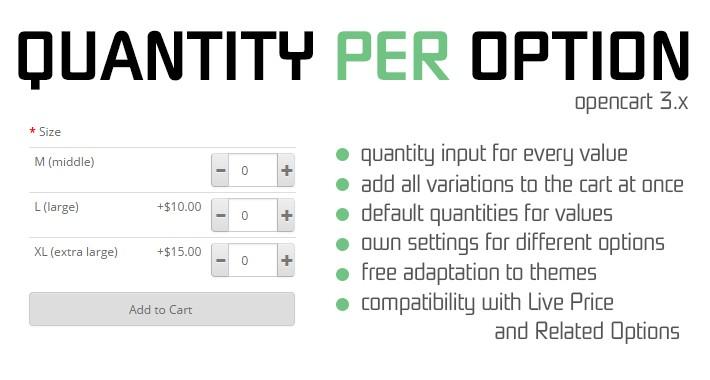Quantity per Option 3