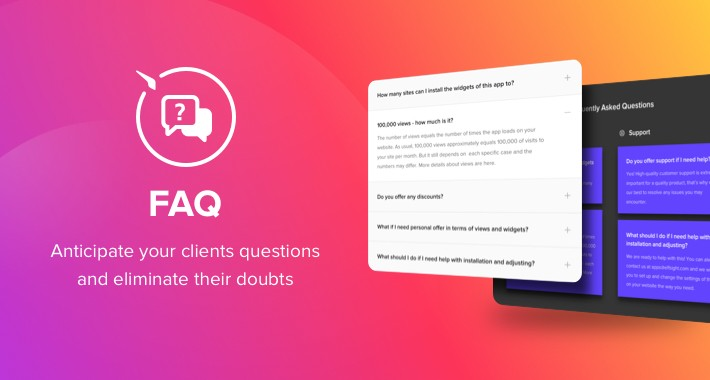 Elfsight FAQ Extension
