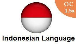 Indonesian language pack OC1.5x