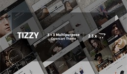 Tizzy - Multipurpose Responsive Opencart 2.x &am..