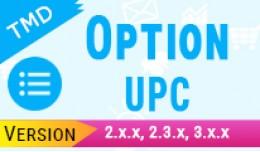 Product Option UPC