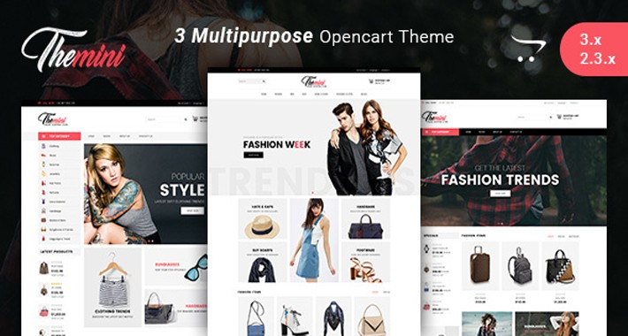 Themini - Multipurpose Responsive Fashion Opencart 2.x & 3.x