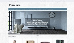 Furniture - Responsive Theme