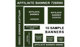 Affiliate banners with tracking / orders