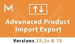 Advanced Product Import  Export (1.5x , 2.x ,3.x)
