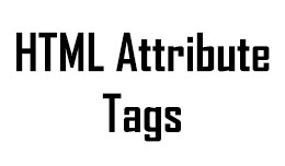 Simple HTML Attributes